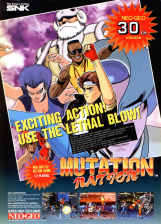 Mutation Nation SNK NEO GEO cover artwork