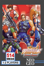Shock Troopers : 2nd Squad SNK NEO GEO cover artwork