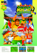 Super Sidekicks 2 : The World Championship SNK NEO GEO cover artwork