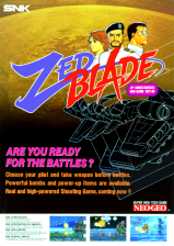 Zed Blade : Operation Ragnarok SNK NEO GEO cover artwork