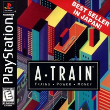 A-Train - Trains, Power, Money Sony PlayStation cover artwork