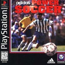 Adidas Power Soccer Sony PlayStation cover artwork