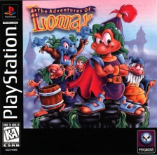 Adventures of Lomax, The Sony PlayStation cover artwork
