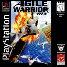 Agile Warrior F-111X Sony PlayStation cover artwork
