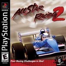 All Star Racing 2 Sony PlayStation cover artwork