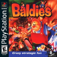 Baldies Sony PlayStation cover artwork
