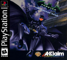 Batman Forever - The Arcade Game Sony PlayStation cover artwork