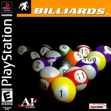 Billiards Sony PlayStation cover artwork
