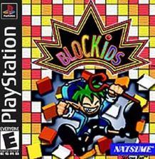 Blockids Sony PlayStation cover artwork