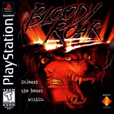 Bloody Roar Sony PlayStation cover artwork