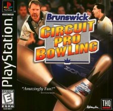 Brunswick Circuit Pro Bowling Sony PlayStation cover artwork