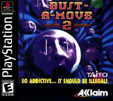 Bust-A-Move 2 - Arcade Edition Sony PlayStation cover artwork