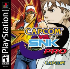 Capcom vs. SNK Pro - Millenium Fight 2000 Sony PlayStation cover artwork