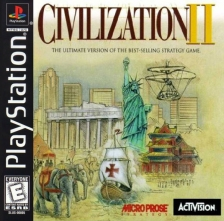Civilization II Sony PlayStation cover artwork