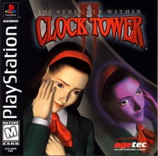 Clock Tower II - The Struggle Within Sony PlayStation cover artwork