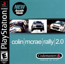 Colin McRae Rally 2.0 Sony PlayStation cover artwork