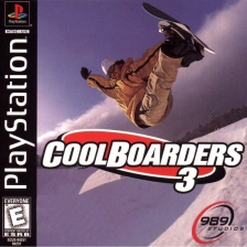 Cool Boarders 3 Sony PlayStation cover artwork