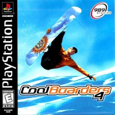 Cool Boarders 4 Sony PlayStation cover artwork