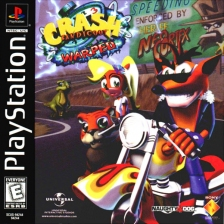 Crash Bandicoot 3 - Warped Sony PlayStation cover artwork