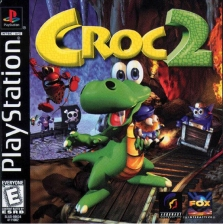 Croc 2 Sony PlayStation cover artwork