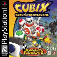 Cubix Robots for Everyone - Race 'n Robots Sony PlayStation cover artwork