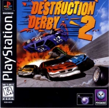 Destruction Derby 2 Sony PlayStation cover artwork