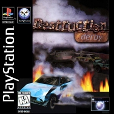 Destruction Derby Sony PlayStation cover artwork