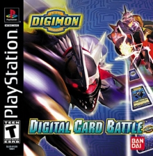 Digimon Digital Card Battle Sony PlayStation cover artwork
