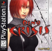 Dino Crisis Sony PlayStation cover artwork