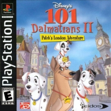 101 Dalmatians II - Patch's London Adventure Sony PlayStation cover artwork