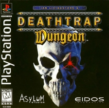 Deathtrap Dungeon Sony PlayStation cover artwork