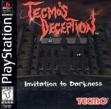 Tecmo's Deception - Invitation to Darkness Sony PlayStation cover artwork