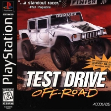 Test Drive Off-Road Sony PlayStation cover artwork