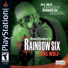 Tom Clancy's Rainbow Six - Lone Wolf Sony PlayStation cover artwork