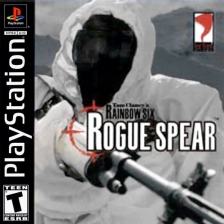 Tom Clancy's Rainbow Six - Rogue Spear Sony PlayStation cover artwork
