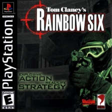 Tom Clancy's Rainbow Six Sony PlayStation cover artwork