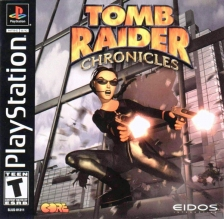 Tomb Raider Chronicles Sony PlayStation cover artwork