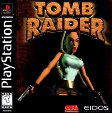 Tomb Raider Sony PlayStation cover artwork