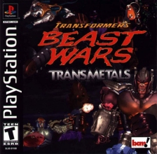 Transformers - Beast Wars Transmetals Sony PlayStation cover artwork