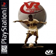 VR Soccer '96 Sony PlayStation cover artwork