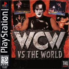 WCW vs. The World Sony PlayStation cover artwork