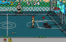 Basketbrawl ingame screenshot