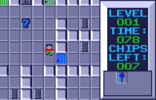 Chip's Challenge ingame screenshot