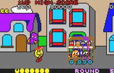 Pac-Land ingame screenshot