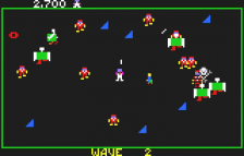Robotron 2084 ingame screenshot