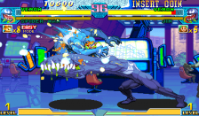 Marvel Vs. Capcom : Clash of Super Heroes ingame screenshot