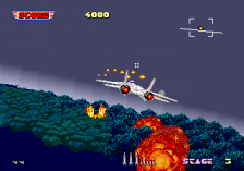 After Burner ingame screenshot