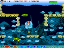 Diver Boy ingame screenshot