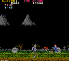 Ghosts'n Goblins ingame screenshot