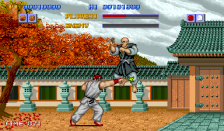 Street Fighter ingame screenshot